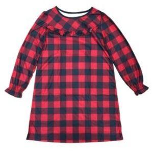 Girls Christmas Pajama Dress Size 10